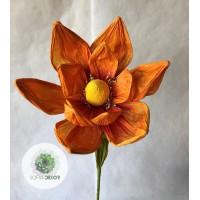 Papír virág magnólia 85cm (TÖBB SZÍNBEN!)