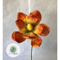 Papír virág magnólia 70cm (TÖBB SZÍNBEN!)