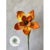 Papír virág magnólia (TÖBB SZÍNBEN!)