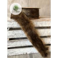 Szőrszalag barna 4cm*2m