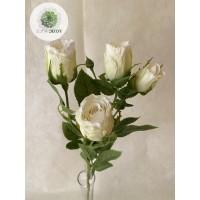 Rózsaág 70cm krém