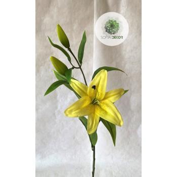 Liliom sárga 90cm