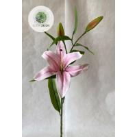 Liliom rózsaszín 90cm