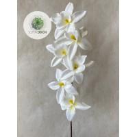 Orchidea krém 65cm