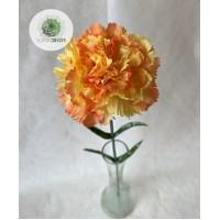 Szegfű narancs 60cm