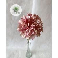 Szegfű púder rózsaszín 53cm