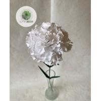 Szegfű fehér 60cm