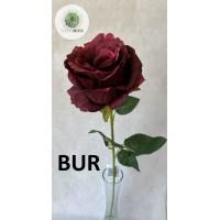 Szálas rózsa 65cm (db ár!) TÖBB SZÍNBEN! (CSAK KÖTEGRE VÁSÁROLHATÓ!)