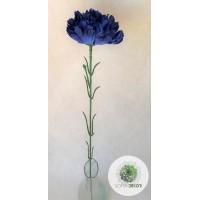 Szegfű 45cm kék