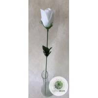 Szálas rózsa fehér (db ár!) CSAK KARTONRA RENDELHETŐ!