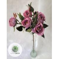 Rózsaág 55cm lila