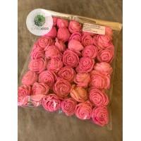 Ming rózsa 4cm rózsaszín