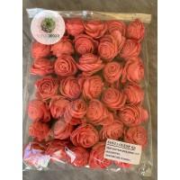 Ming rózsa 4cm korall