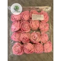 Ming rózsa 6cm rózsaszín