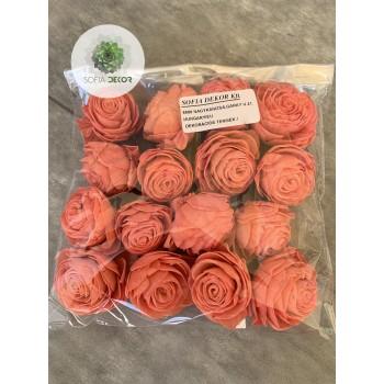 Ming rózsa 6cm korall
