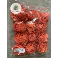 Ming rózsa 8cm korall
