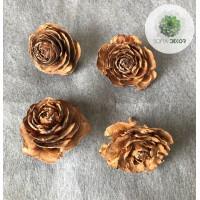 Cédrus rózsa fej 3-5cm natúr