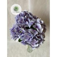 Hortenzia csokor x5 vil.lila 50cm