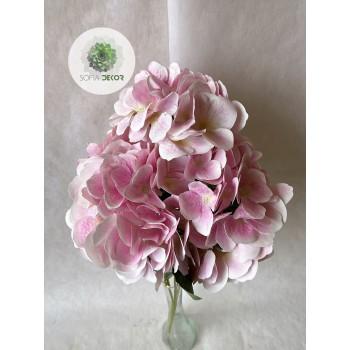 Hortenzia csokor x5 rózsaszín 50cm