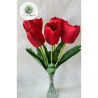Tulipán kötegelt csokor x5 (TÖBB SZÍNBEN!)